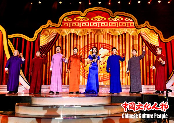 """【组图】""""中国文学艺术界2018春节大联欢""""唱响新时代"""